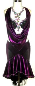 Deep Purple Dress 1