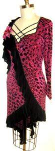 Wild Fuchsia Dress 3