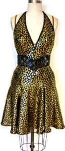 Gold Rush Dress 1