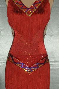 Aztek competition ballroom dance dresses