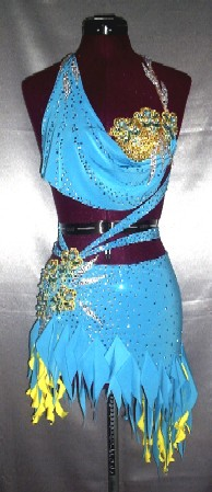 Bahama Joy competition latin ballroom dress