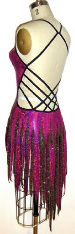 cluster latin dance competition costumes