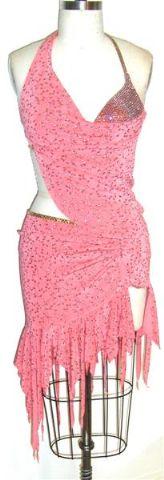 Coral Glow Dress