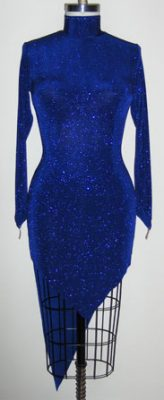 Deep Lagoon competition rhythm dress front