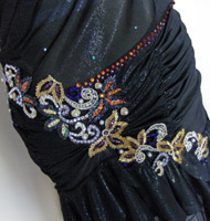 Greek Goddess latin competition dress