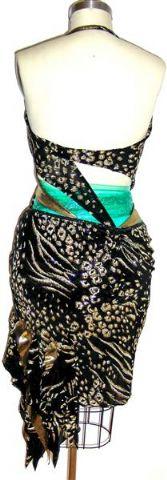 Golden Cheetah Dress