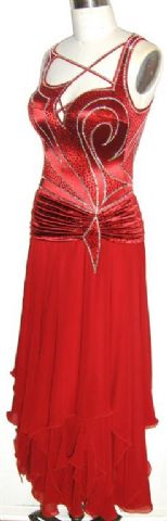 Sweet Valentine competition ballroom dress sale