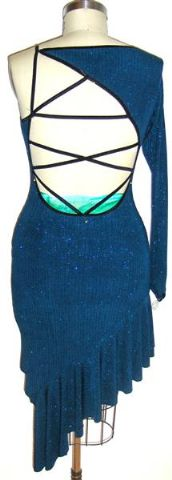 Teal Fantasy Dancewear for practice and competition