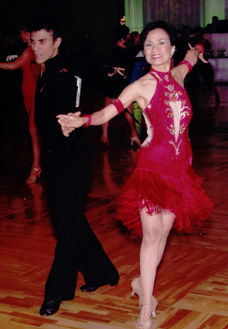 Amazing Competition Latin Ballroom Dress