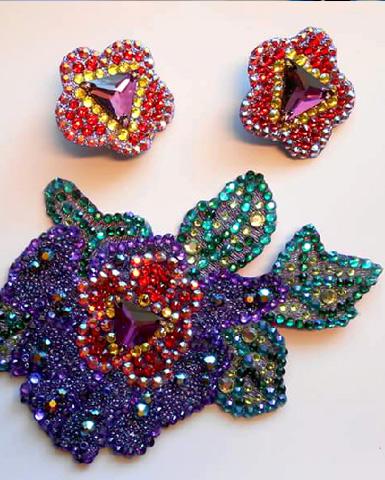 dance jewelry for ballroom and latin dance