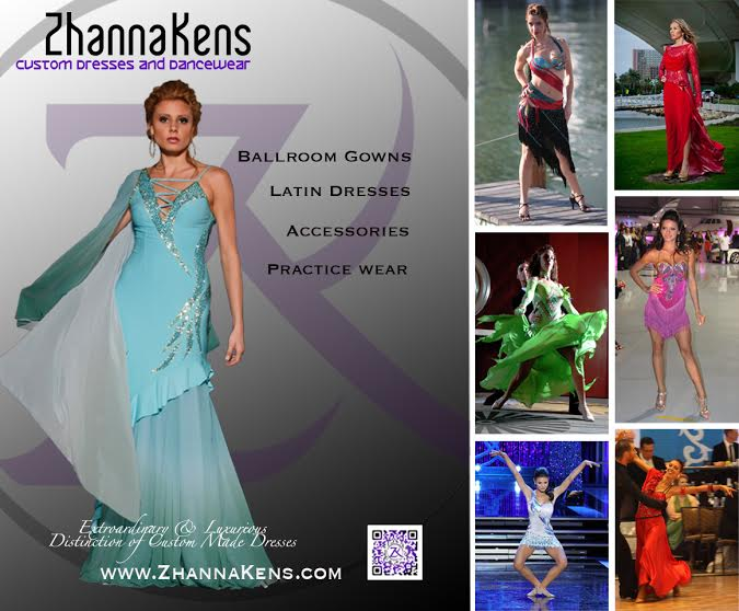Explore your Ballroom Dancewear with Zhanna Kens