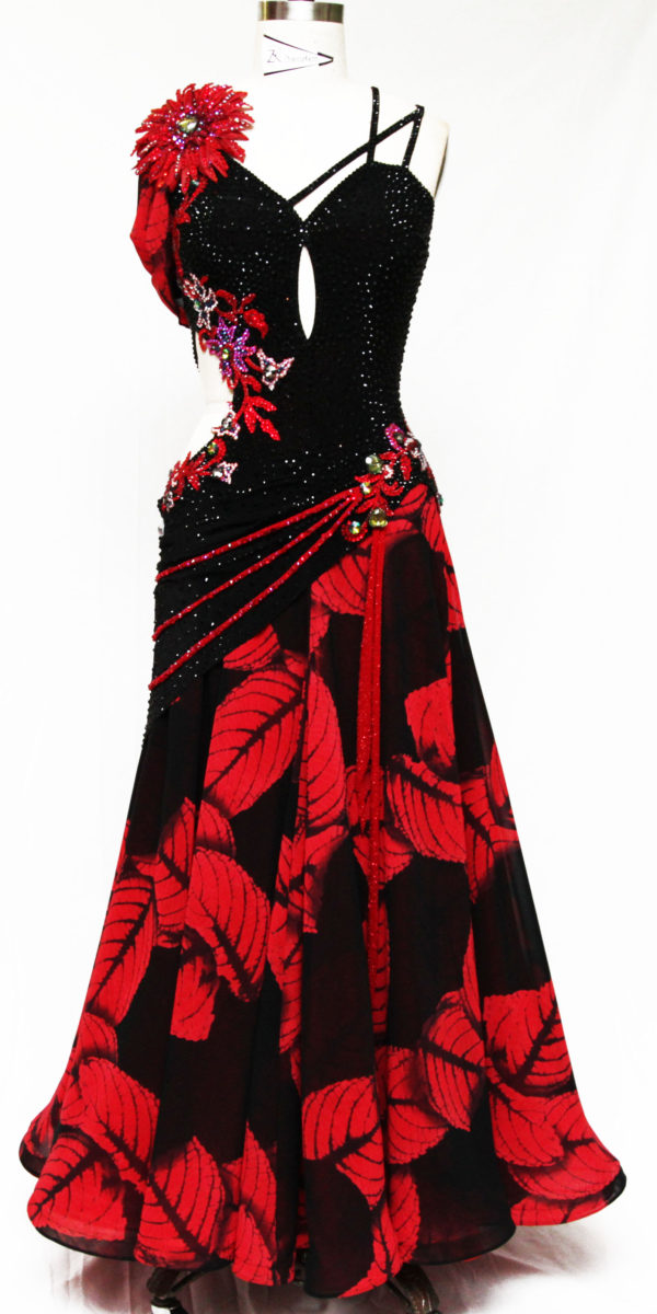 standard ballroom dress for competition