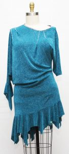 ballroom latin practice dress size 14